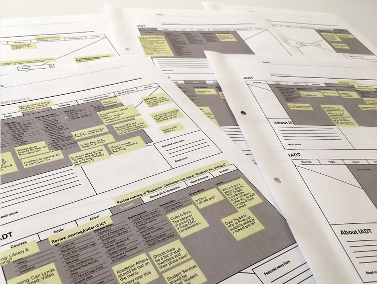 validating wireframes